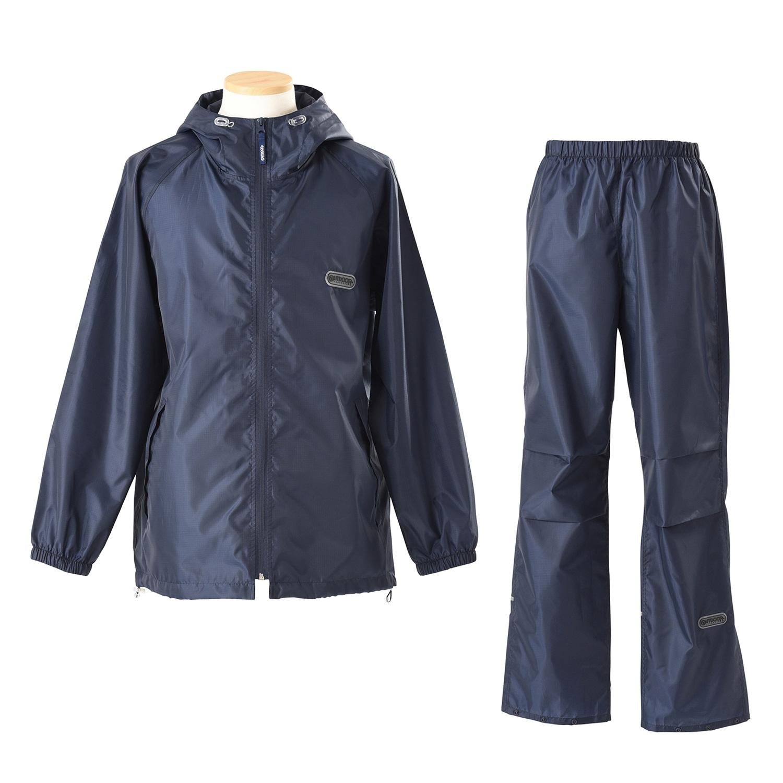 スーツ型レインコート